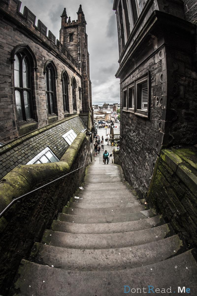 scale castello edimburgo diario di viaggio scozia