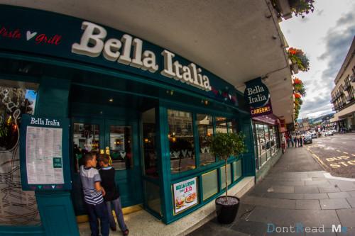 bella italia inverness
