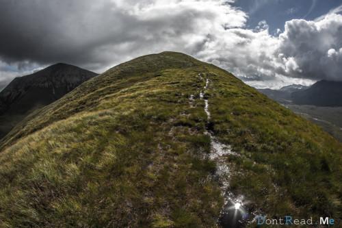 montagna scozia